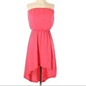 Coral express high low dress